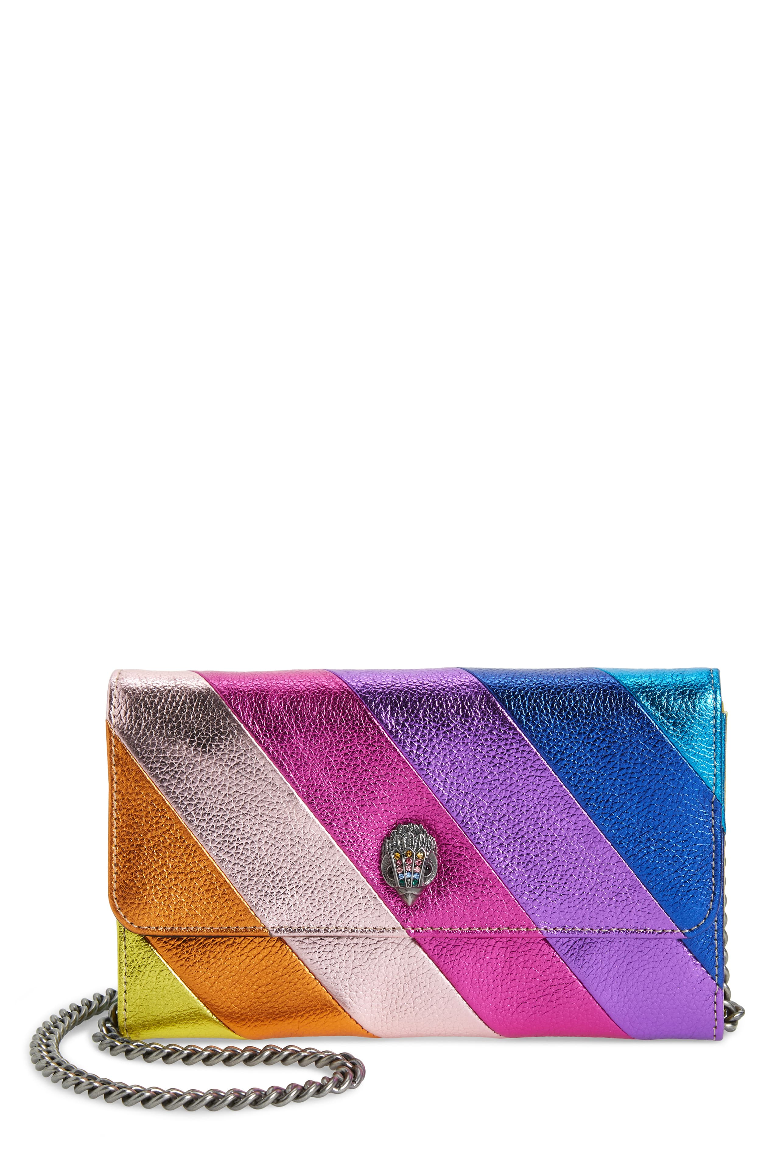 "<p>Colorful stripes of metallic leather and a signature eagle dazzle the flap of a chic wallet with a drop-in chain for easy carrying. $120{&nbsp;}</p><p><a  href=""https://shop.nordstrom.com/s/kurt-geiger-london-stripe-leather-chain-wallet/5164872/full?origin=category-personalizedsort&breadcrumb=Home%2FWomen%2FShop%20by%20Occasion%2FNight%20Out&color=multi%2F%20other"" target=""_blank"" title=""https://shop.nordstrom.com/s/kurt-geiger-london-stripe-leather-chain-wallet/5164872/full?origin=category-personalizedsort&breadcrumb=Home%2FWomen%2FShop%20by%20Occasion%2FNight%20Out&color=multi%2F%20other"">Shop it{&nbsp;}</a></p><p>(Image: Nordstrom){&nbsp;}</p>"