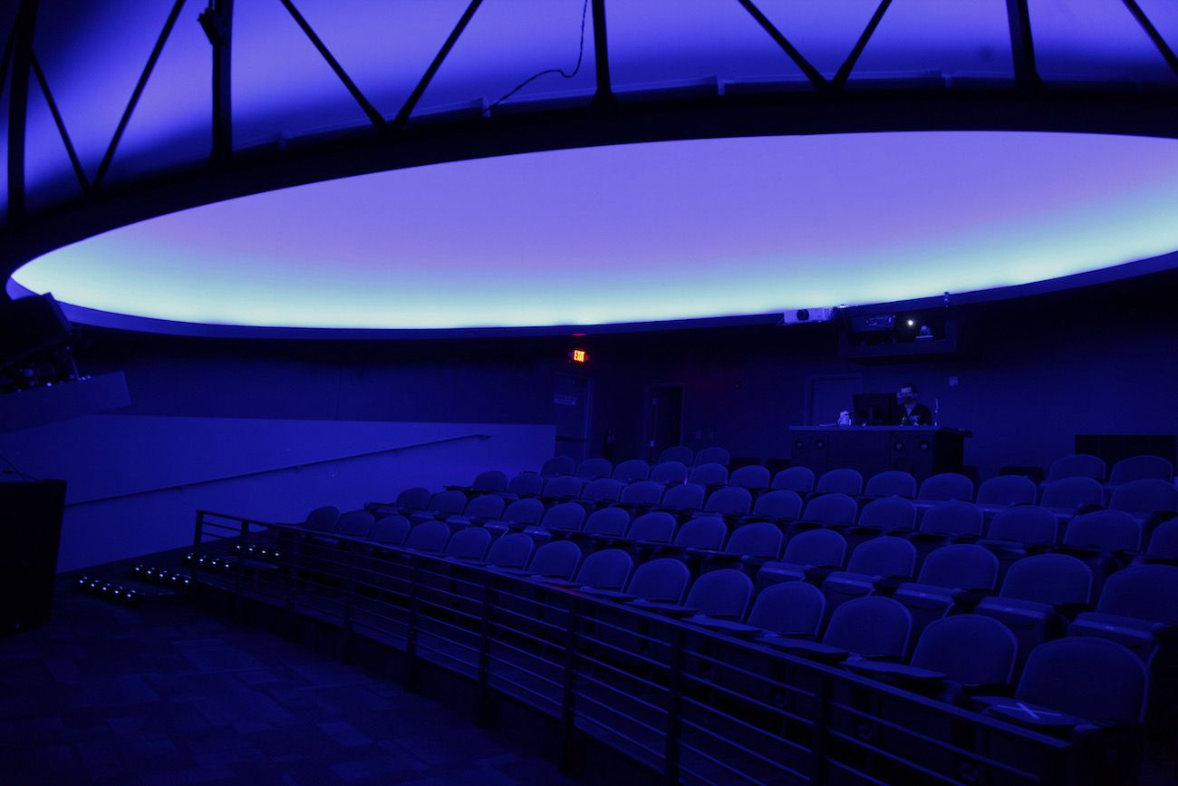 Pictured is the 30-foot SciDome planetarium at{ }The Works: Ohio Center for History, Art & Technology in Newark. The museum also features interactive history, science, and technology exhibits, as well as a glass-blowing studio. ADDRESS: 55 S. 1st Street, Newark, Ohio (43055) / Image: Chez Chesak{ }// Published: 2.12.21