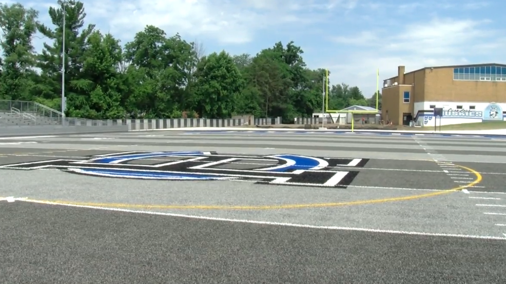 7.3.17 Video - Two area schools set to debut on field turf this football season