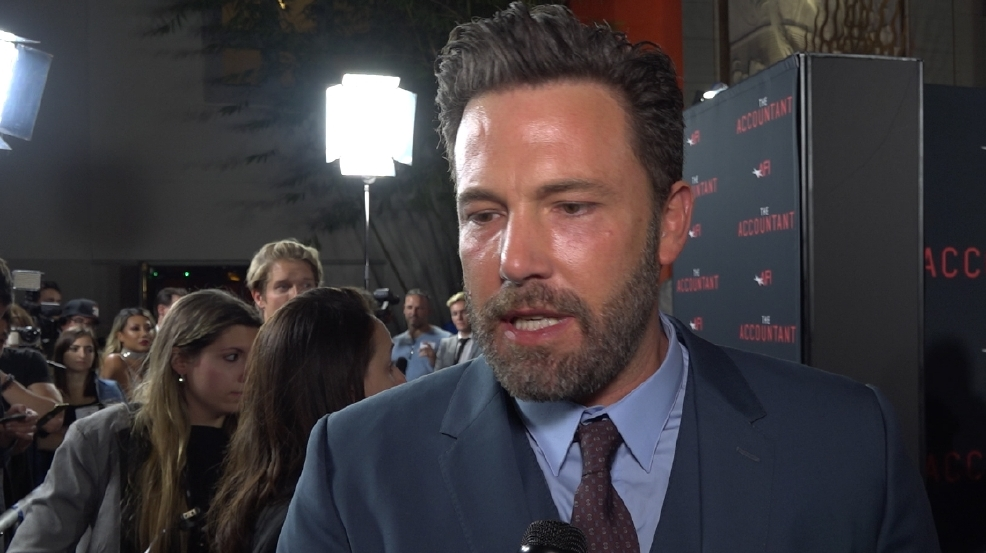 Ben Affleck says his starring role in 'The Accountant' is breaking barriers in Hollywood