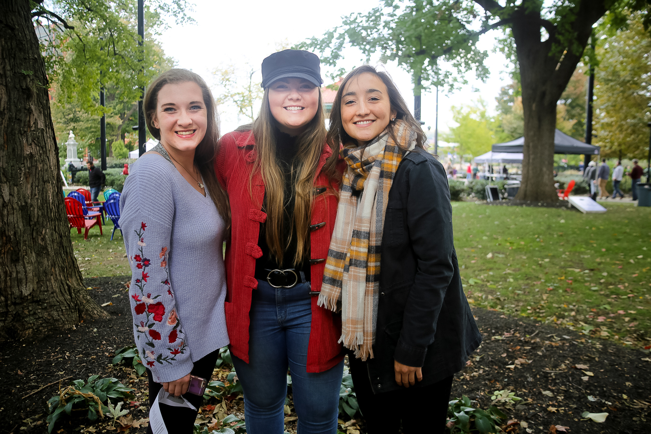 Caroline Eiffert, Samantha Mackell, and Riley Ferrara / Image: Ann Van Epps // Published: 10.29.18