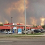 Raging wildfire destroys entire neighborhoods in Alberta town