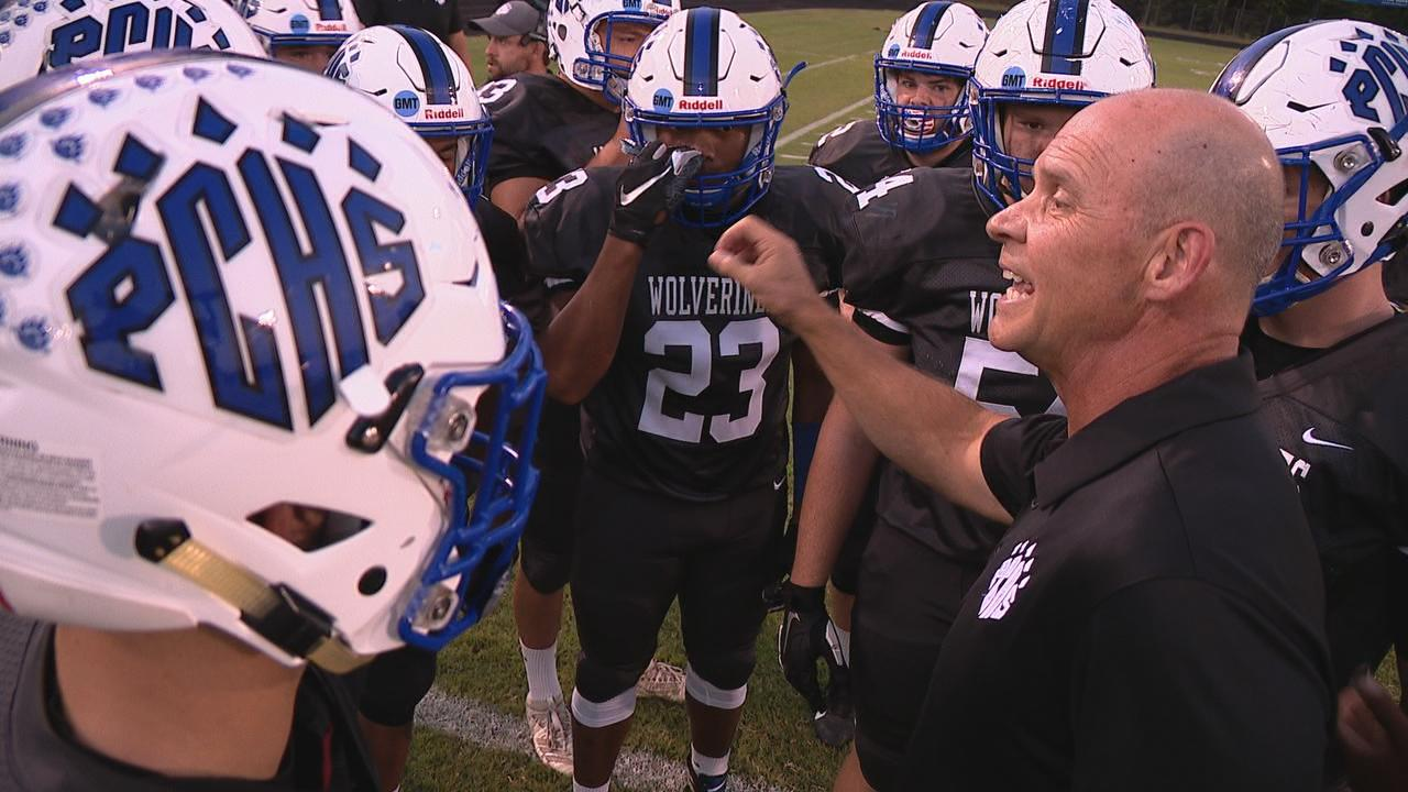 East Henderson vs. Polk County, 09-20-19<br>Photo credit: WLOS Staff