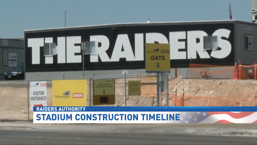 The Raiders Stadium: Lots of progress, with not a minute to