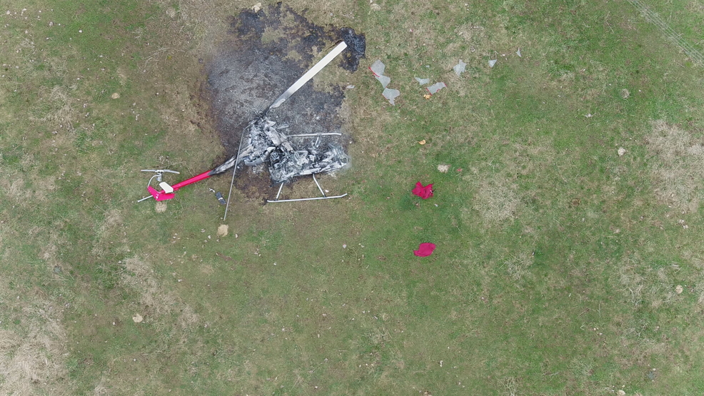 Helicopter built from kit crashes in Orleans County
