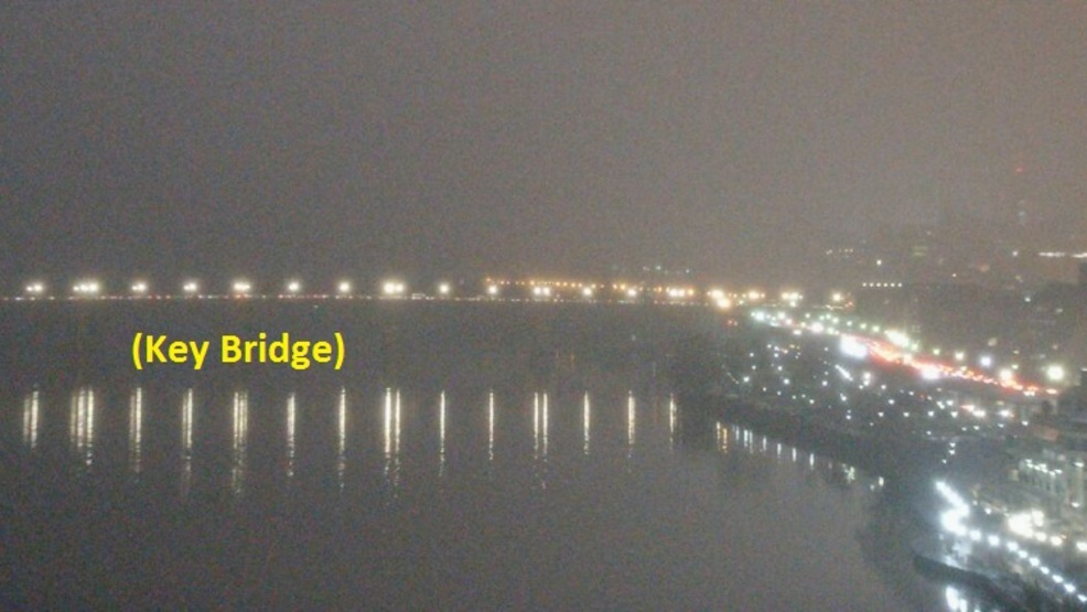Thick fog developing around the DC area