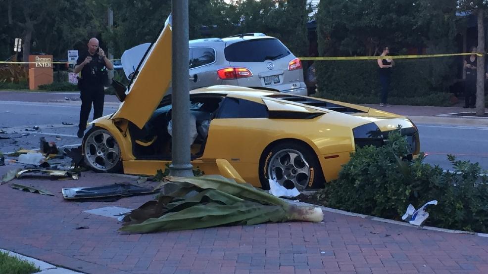 Deadly Crash Involving Lamborghini Investigated In Delray