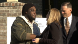 New Nashville housing complex helps homeless man move into his first apartment