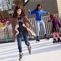 Hendersonville ice rink opens Tuesday