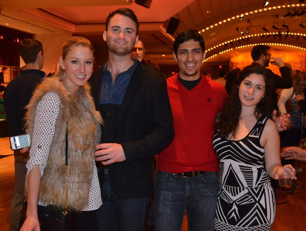 Lauren Holman, James Cooke, Diego Alvarez, and Sarah Ungar (Image: Leah Zipperstein / Cincinnati Refined)