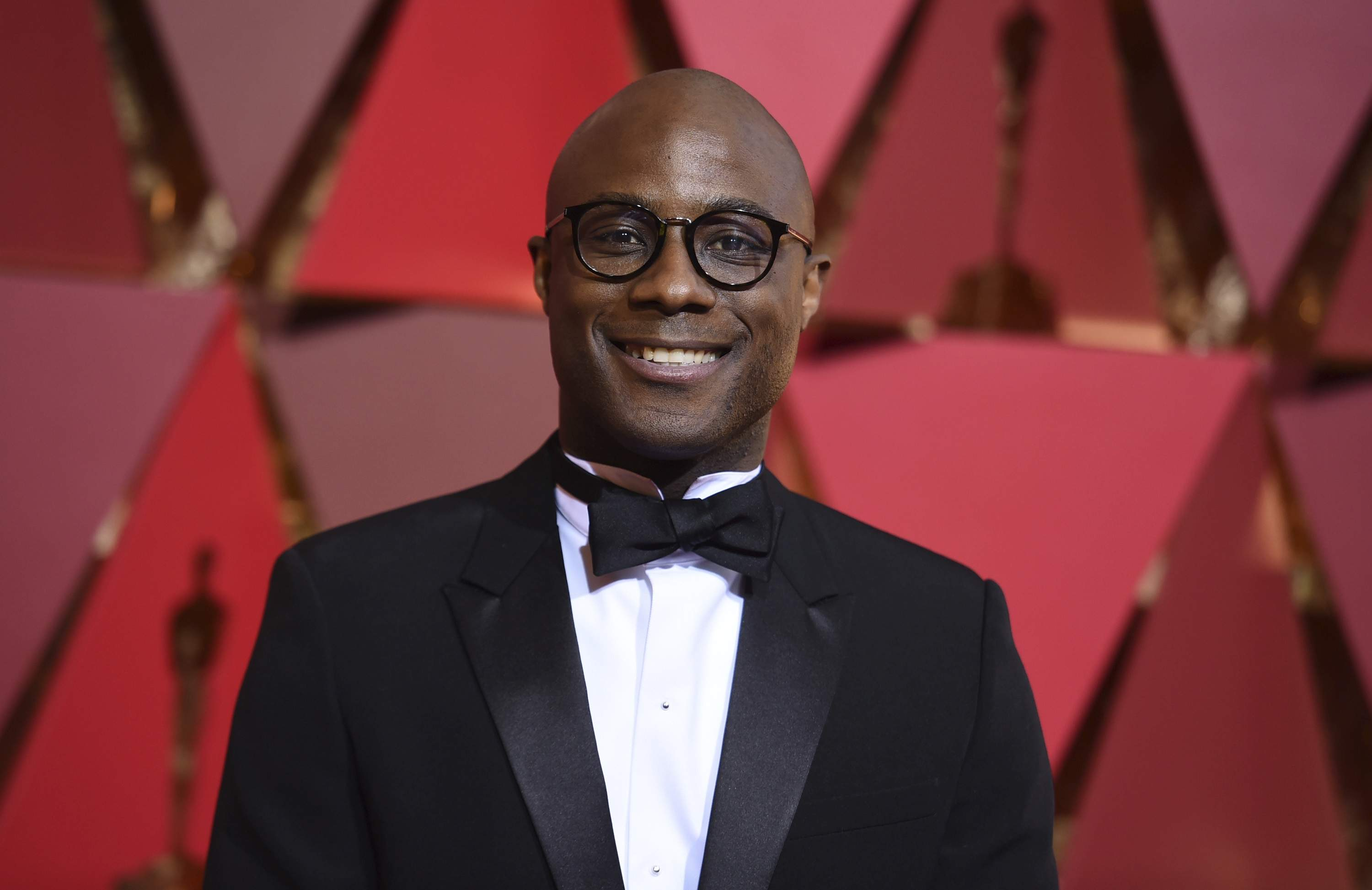 Barry Jenkins arrives at the Oscars on Sunday, Feb. 26, 2017, at the Dolby Theatre in Los Angeles. THE ASSOCIATED PRESS