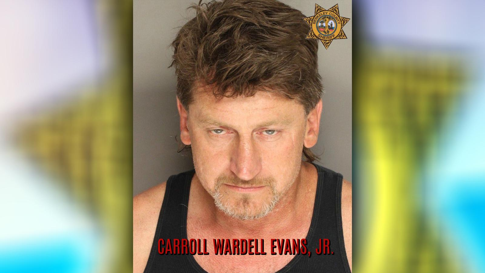 •	Carroll Wardell Evans, Jr. Possession of Meth
