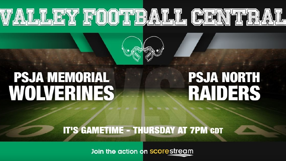 Watch Live: PSJA Memorial Wolverines vs. PSJA North Raiders