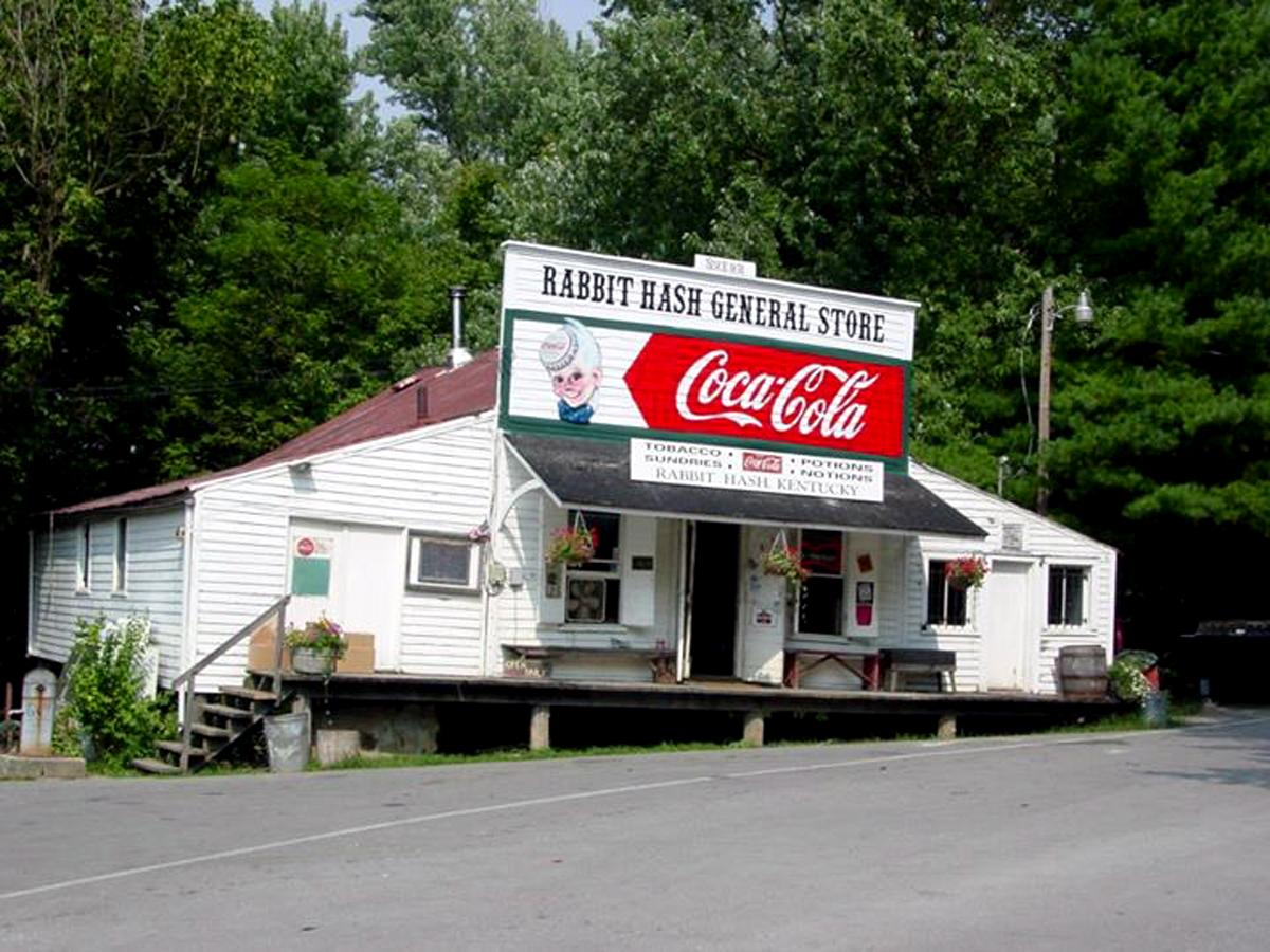 The Rabbit Hash General Store is basically the center of the universe. You'll see that when you go for a visit.