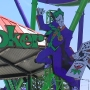 New 'Joker' roller coaster opening at Six Flags Over Texas...but first we ride it