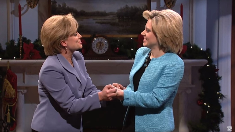 Watch Tiny Fey Amy Poehler Reprise Palin Clinton Roles