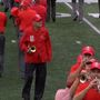 "100-year-old Violi dots ""i"" at OSU game"