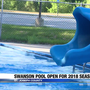 Swanson community pool open for the 2018 season
