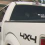 Man pleads for kidney donor for his wife-- on his pickup