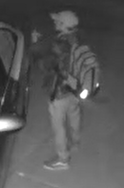 Lehi City Police Department is seeking help from the public in the identification of two individuals who committed multiple vehicle burglaries. (Photo: Lehi Police / Facebook)<p></p>