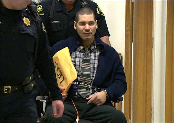 Seattle cop killer Christopher Monfort died in his prison cell on Wednesday, Jan. 18. 2017. (KOMO file photo)