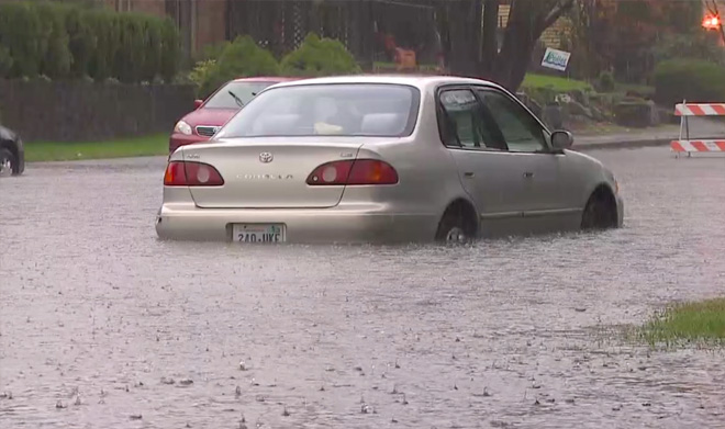 "1.96"" -- The amount of rain that fell in Seattle's Crown Hill neighborhood in just 6 hours, according to Seattle Public Utilities. Overall, 2.13"" fell at the official gauge at Sea-Tac Airport for the day Monday, shattering the daily rain record of 1.23"" set in 1962."