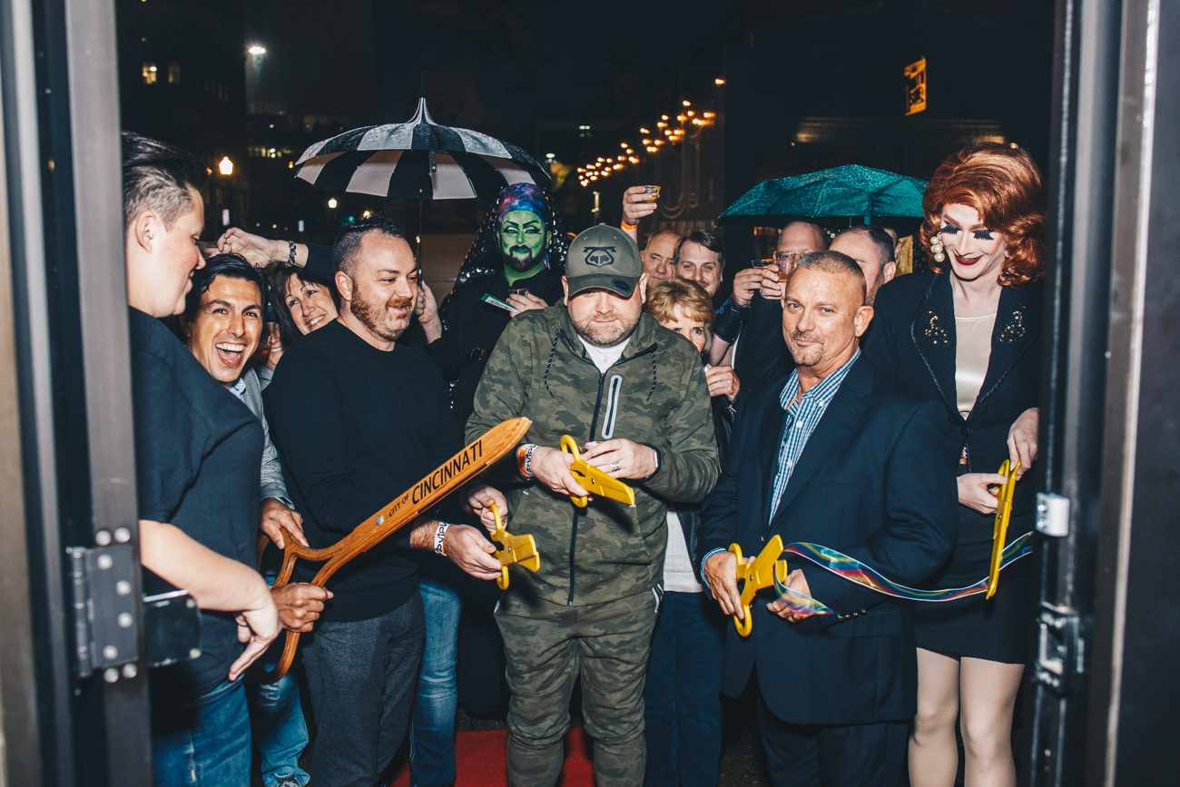 Ribbon cutting on the opening night, October 26, 2018 / Image: Catherine Viox // Published: 12.24.18