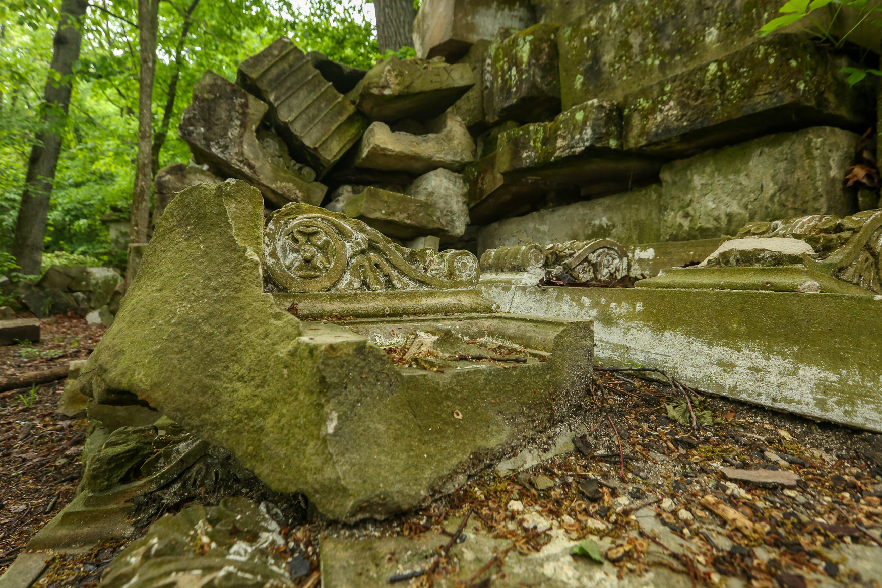 In the late 1950s, parts of the Capitol were renovated to create new office space and a subway terminal. The removed façade pieces were dumped in Rock Creek Park, where they now languish, covered by vines. The Capitol Stones are barely off of the beaten path - they're just half a mile from the{ }Rock Creek Park Horse Center parking lot. However, stumbling across the maze of crumbling stones feels like uncovering a mystery worthy of Indiana Jones. Many of the stones still have intricate carvings that have barely been tainted by encroaching vines. This locals-only attraction is definitely worth a visit, even if the location is visible on Google Maps. (Amanda Andrade-Rhoades/DC Refined)