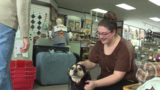 Mishawaka woman meets adopted dog on Valentine's Day