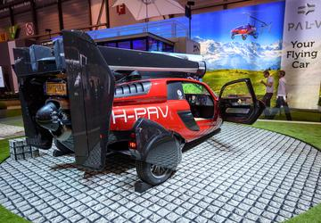 High hopes: Dutch company launches flying car at Geneva show