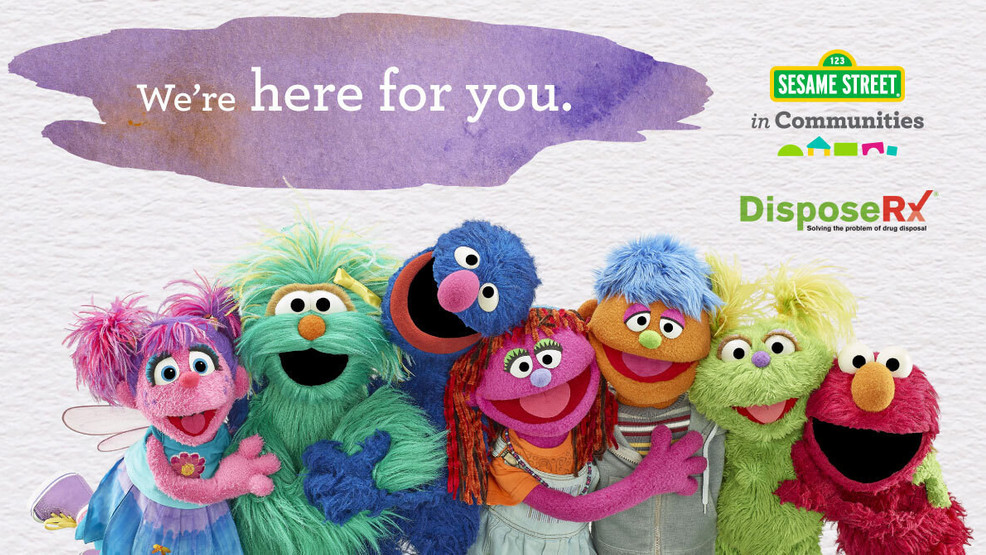 Sesame Street launches web series to aid families dealing with parental addiction