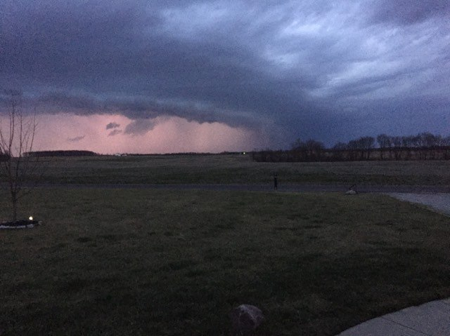 Storm on Feb. 24 (Tim and Penny Dowers)