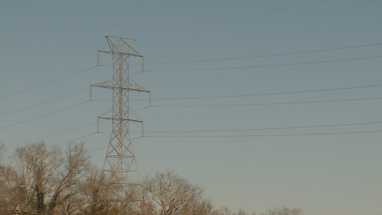<p>Extreme cold can make it harder for Duke Energy's equipment to work, officials said. (Photo credit: WLOS staff)</p>
