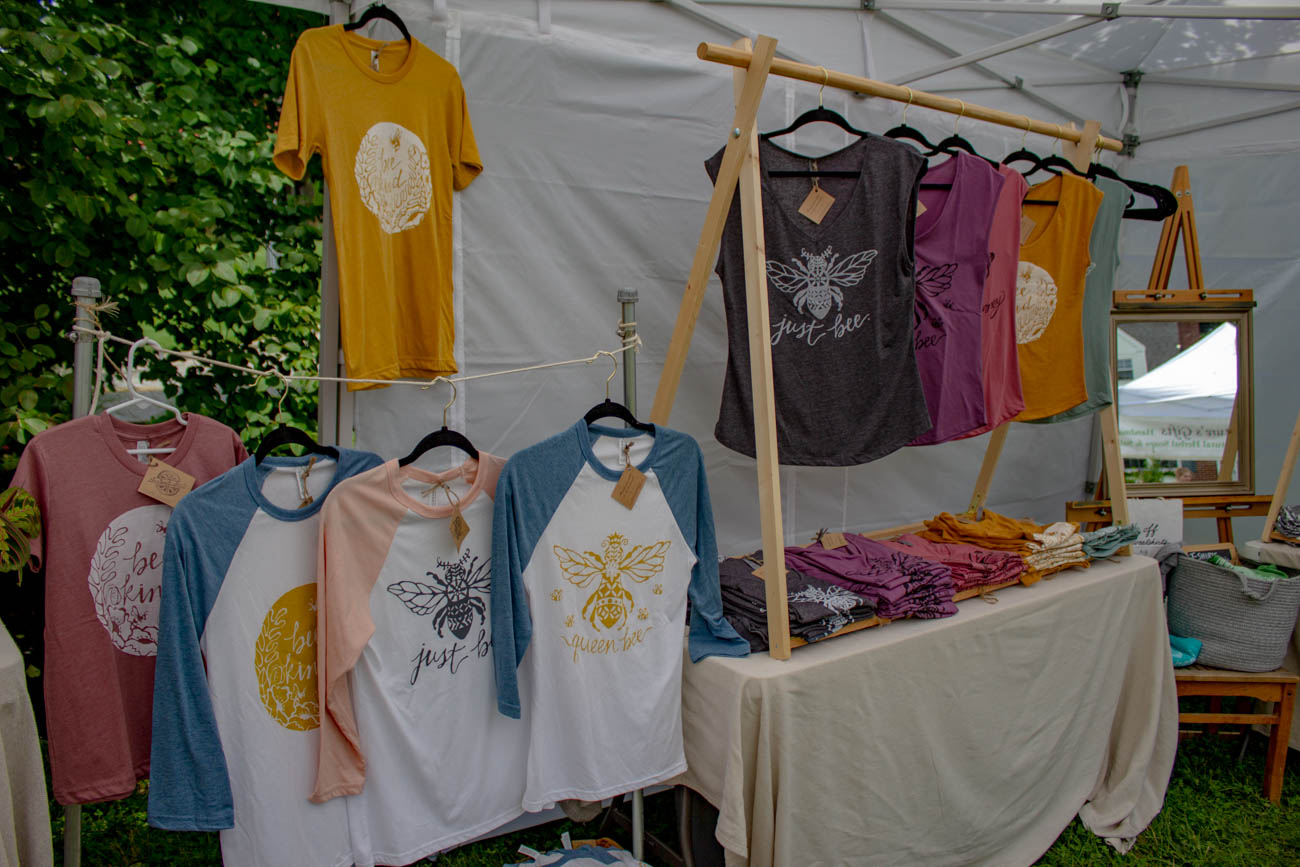 Hand-printed clothing from Chestnut Street{ }/ Image: Katie Robinson, Cincinnati Refined // Published: 6.24.19