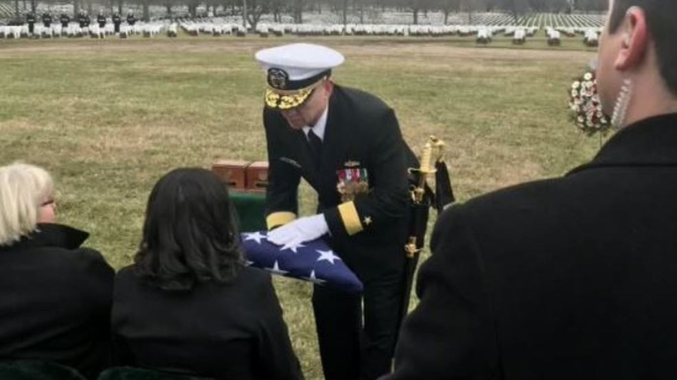 Navy pilot, Canandaigua native, laid to rest at Arlington National Cemetery