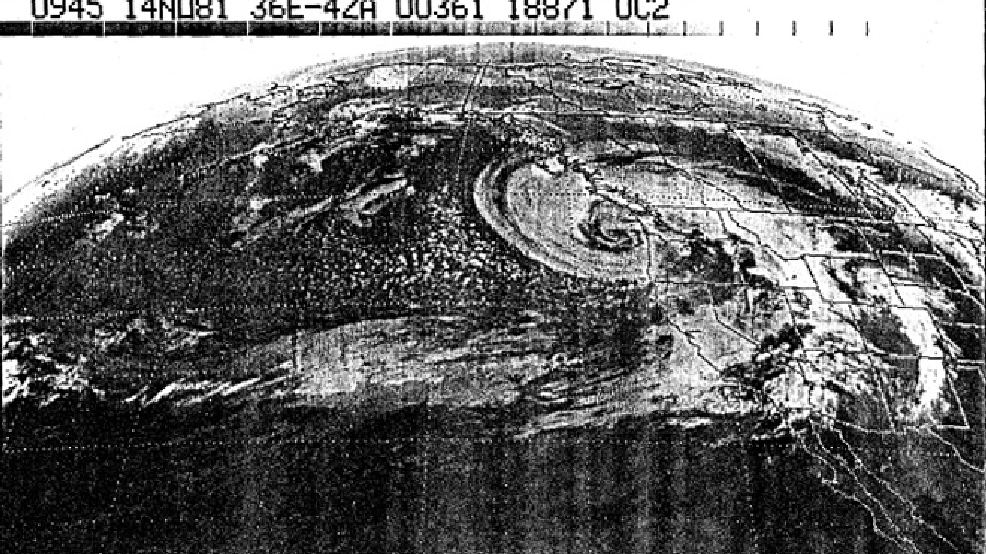 Remembering the great Friday the 13th storm of 1981