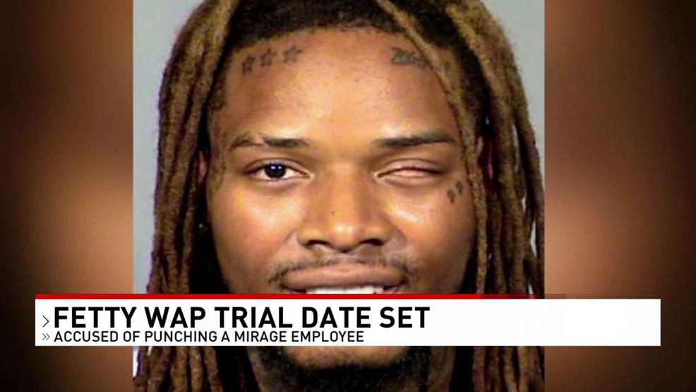 Not guilty plea entered for rapper Fetty Wap in alleged Las Vegas hotel fight