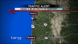 3-vehicle crash blocks Hwy 101 south of Newport