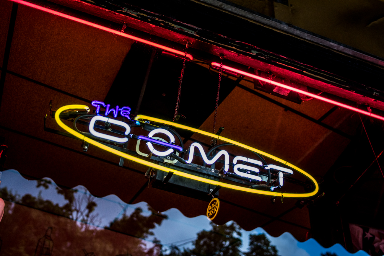 PLACE: The Comet / ADDRESS: 4579 Hamilton Avenue (Northside) / The Comet is a local hangout offering takeout Mexican cuisine and drink specials. / WEBSITE: cometbar.com / Image: Catherine Viox // Published: 9.5.20