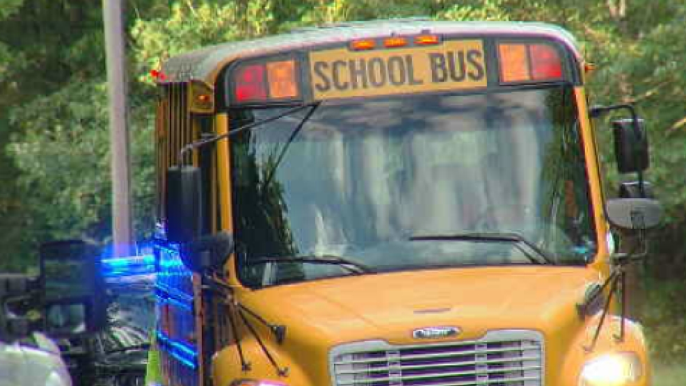 A Catoosa County Schools bus was involved in crash Monday morning. No  students were injured. (Image: WTVC)