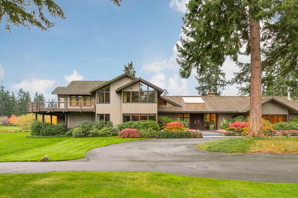 The most expensive home for sale on Vashon Island on Zillow is this 5 beds, 5 baths selling for $43,000,000, It sits on 525 acres and is 6,500 square feet. (Image Credit: Brad Vancour).