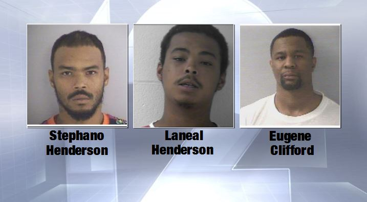 Five Cincinnati residents are accused of cashing stolen checks for over a year (BCSO)