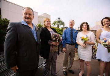 Five couples to chalreston sc to renew their vows seattle refined