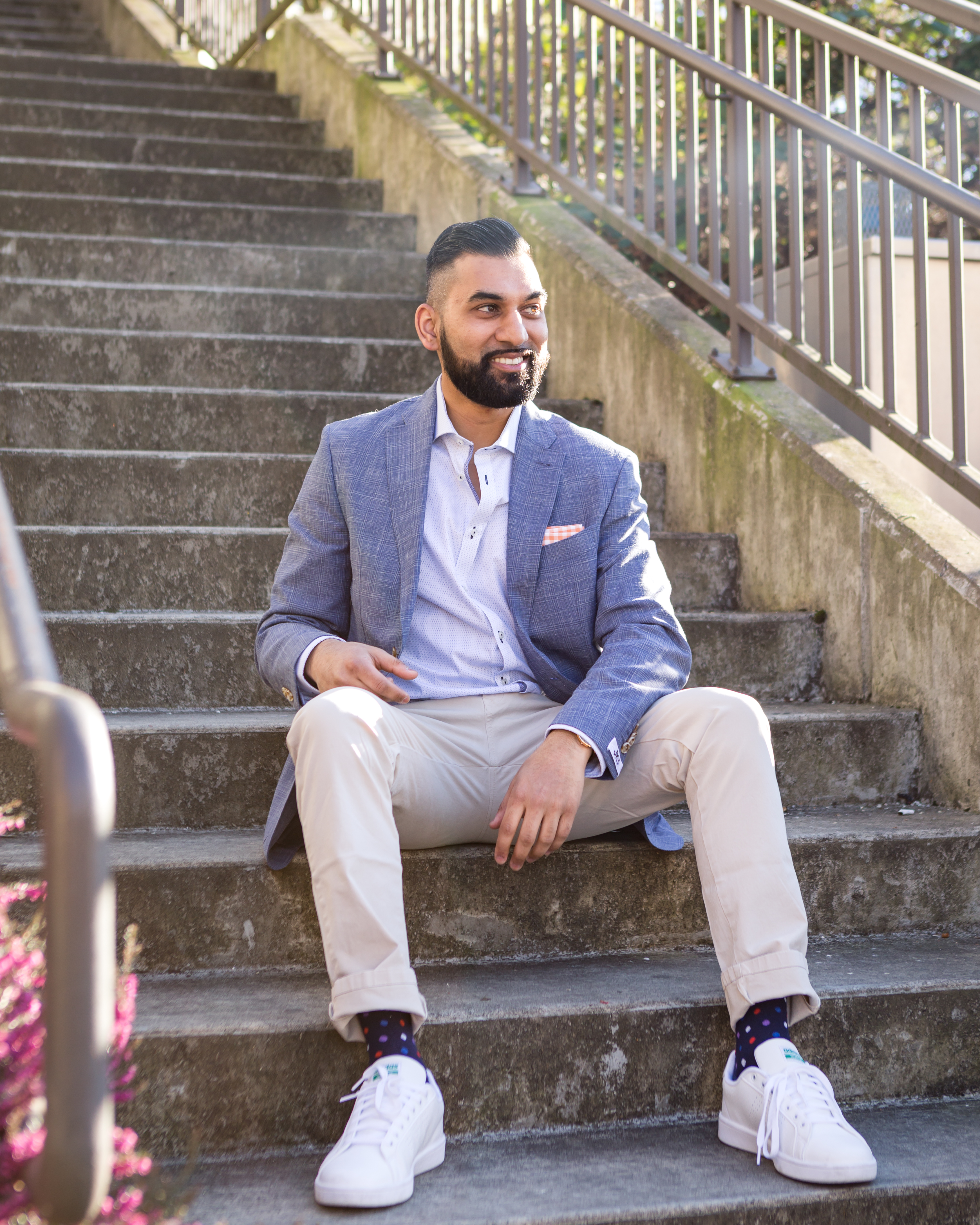 Avi Soor, the co-founder of Seattle Gents and a men's fashion blogger. (Image: Seattle Gents)<p></p>