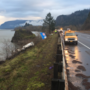 ODOT shutting down one lane of WB I-84 Wednesday to pull semi from Columbia River