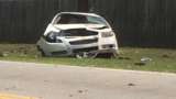 Man flips car trying to get away from deputy