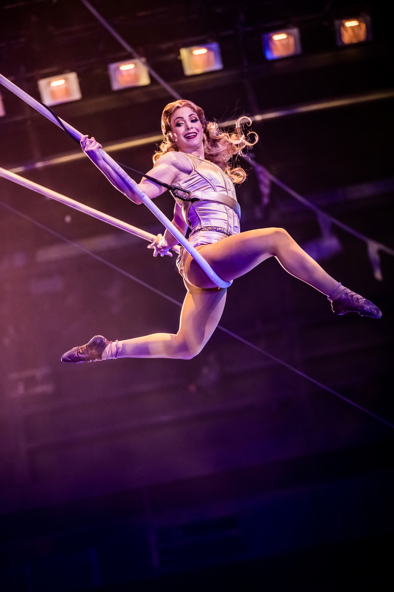 One Night for One Drop 2017 features breathtaking aerial routines at the Zumanity Theatre in Las Vegas, March 3, 2017. (Photo courtesy of Erik Kabik/ErikKabik.com)