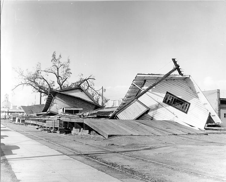 Columbus Day Storm Damage (City archives)