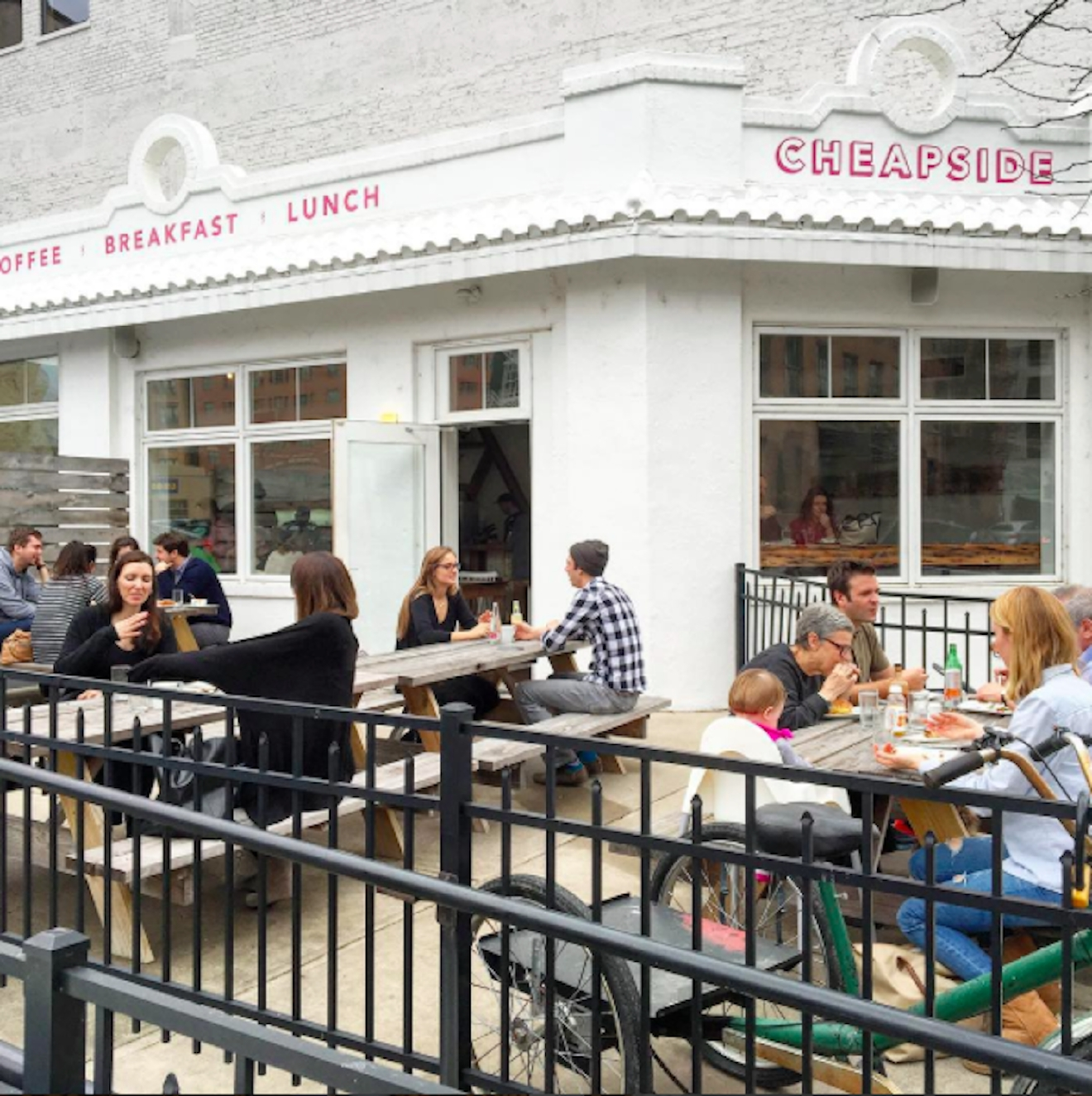 Cheapside Cafe -- located in Downtown Cincinnati at 326 E. 8TH Street (45202). / Image courtesy of Cheapside Cafe