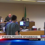 Man who stabbed Fiesta Foods employee appears in court